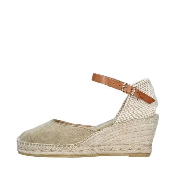 TONI PONS Shoes Women  With wedge KAKI CORTINA5