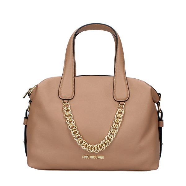 LOVE MOSCHINO Bags Women Hand Bags GALV GOLD CAMEL JC4044PP18LE0