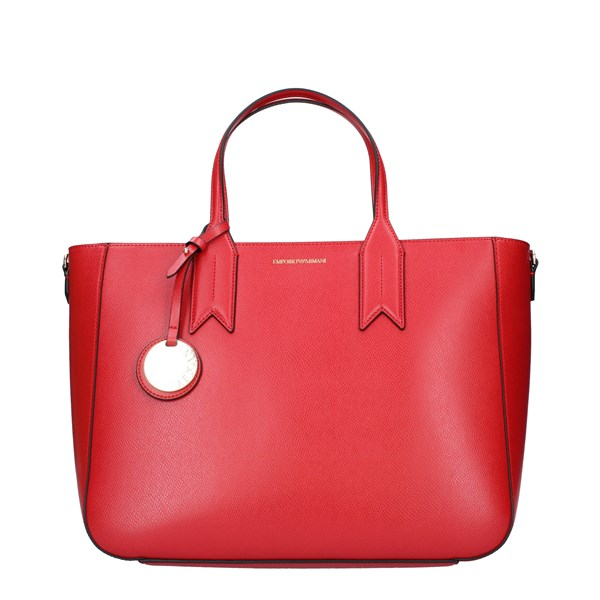 EMPORIO ARMANI Bags Women Shopping bags RED BLACK Y3D082.YH15A