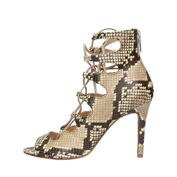 BIANCA DI Shoes Women With heel COBRA SABBIA BIDI.877