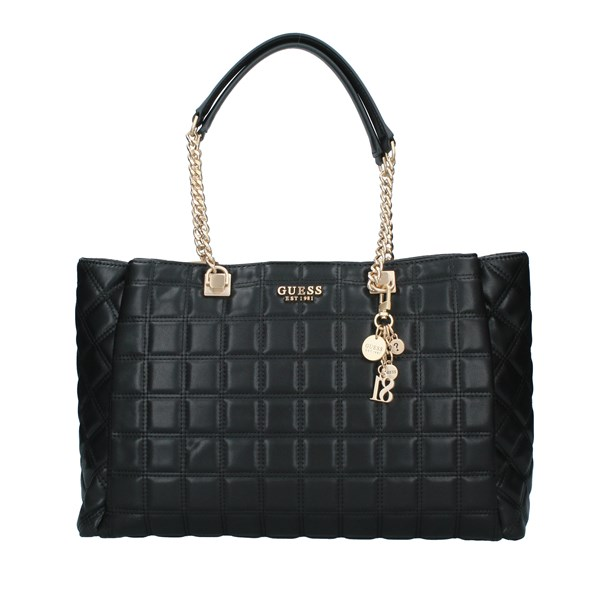 GUESS Bags Women Shopping bags BLACK HWVS8111230