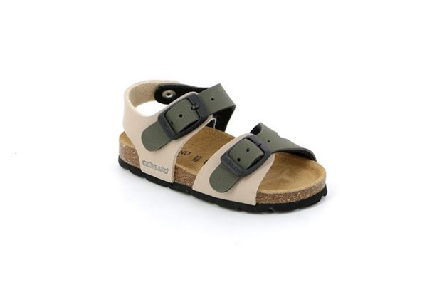 GRUNLAND Shoes Boys Sandals BEIGE OLIVA ARIA.SB0025