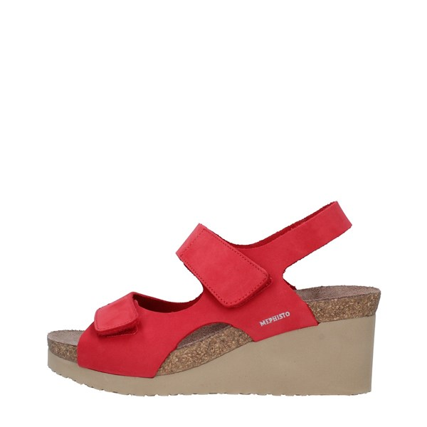 MEPHISTO Shoes Women Sandals RED TINY