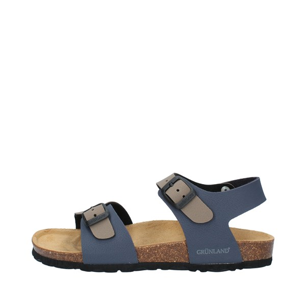 GRUNLAND Shoes Boys Sandals BLUE TORTORA LUCE.SB0901