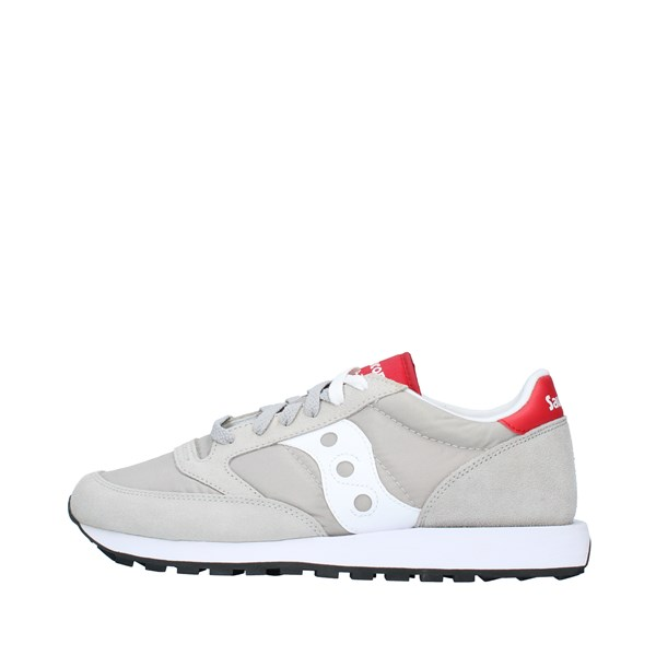 SAUCONY Sports shoes Unisex GRAY WHITE RED 2044