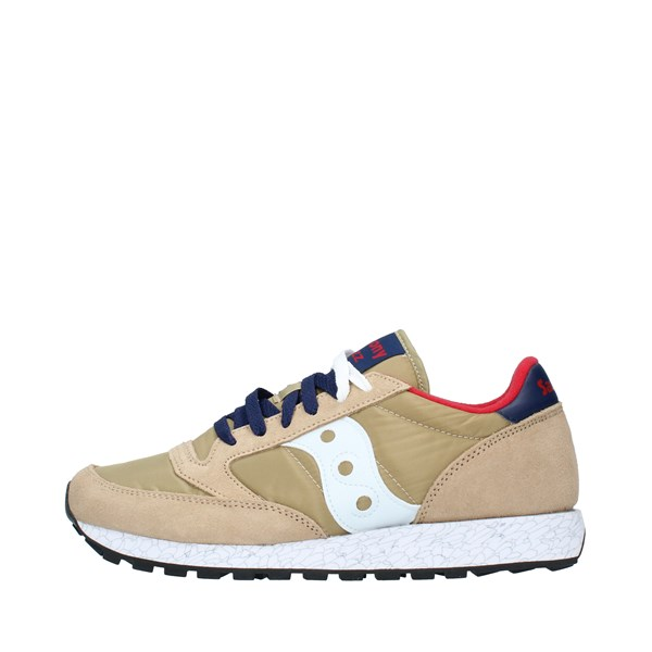 SAUCONY Sports shoes Unisex TAN RED BLUE 2044
