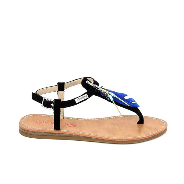 LES TROPÉZIENNES PAR M. BELARBI Shoes Women Sandals BLACK GALATEE
