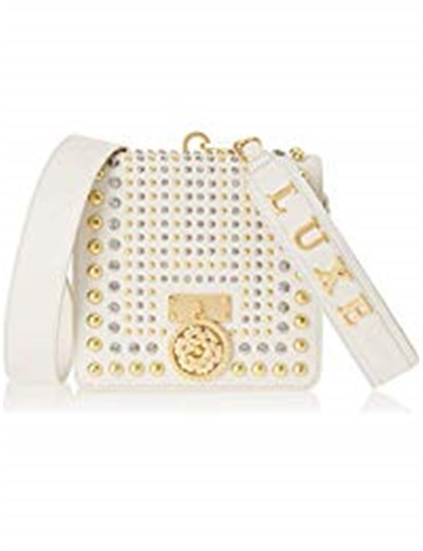 GUESS Bags Women Shoulder Bags IVORY MULTICOLOR HWALEML8321
