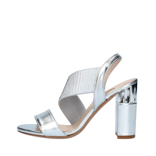 ALBANO Shoes Women With heel SILVER 2202