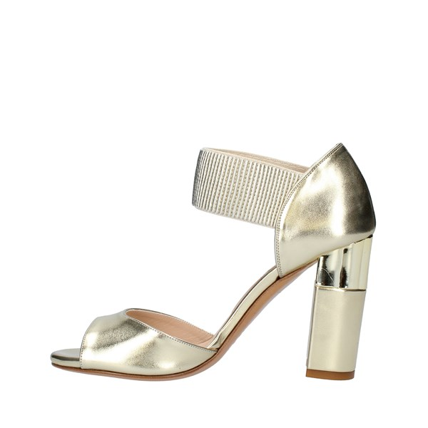 ALBANO Shoes Women With heel PLATINUM 2090