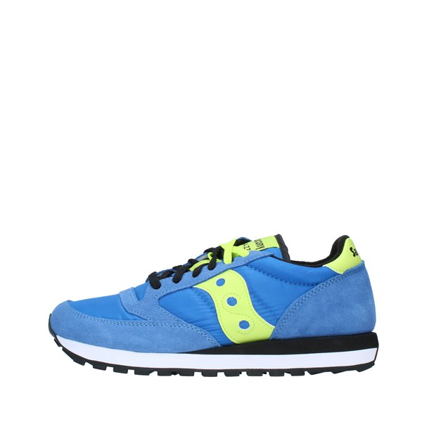 SAUCONY Shoes Unisex Sneakers BLUE BRIGHT YELLOW 2044