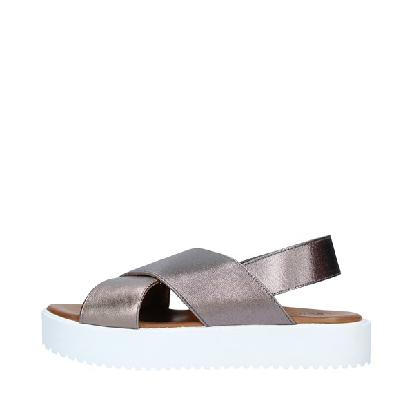 INUOVO Shoes Women Sandals PEWTER 128007