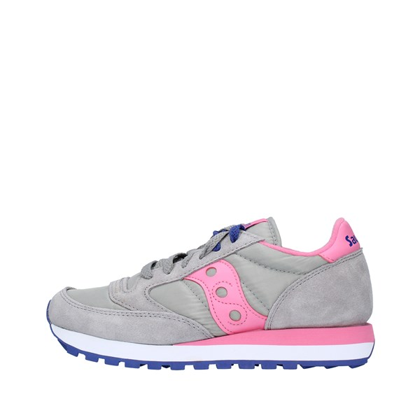 SAUCONY Sports shoes Women GRAY PINK 1044