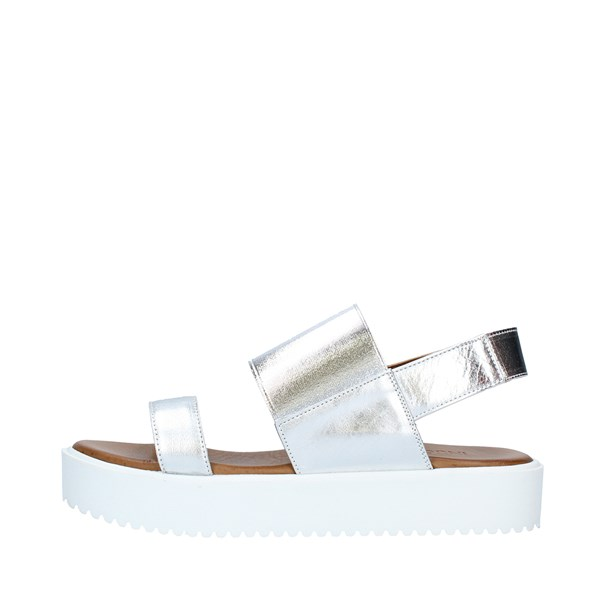 INUOVO Shoes Women Sandals SILVER 128012
