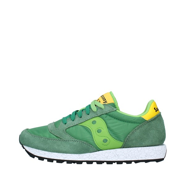 SAUCONY Shoes Unisex Sneakers GREEN YELLOW 2044