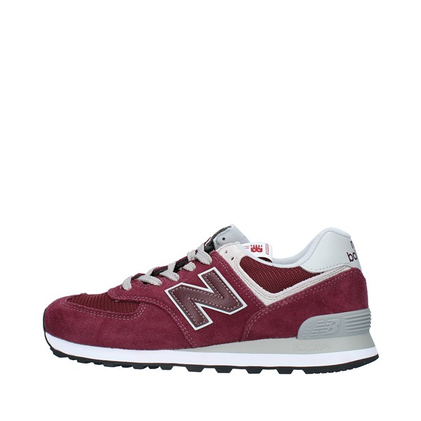 NEW BALANCE Shoes Men Sneakers BURGUNDY ML574