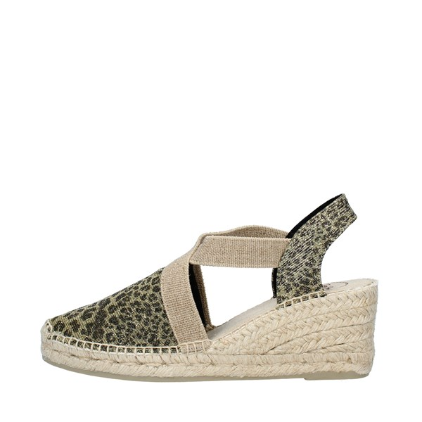 TONI PONS Shoes Women  With wedge LEOPARD TRITON