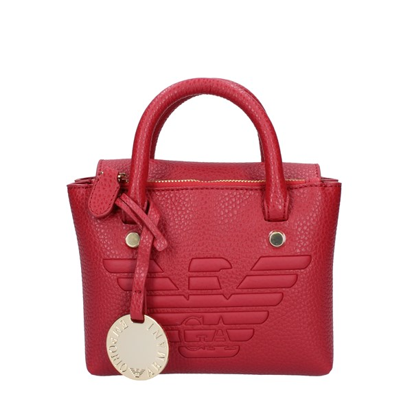 EMPORIO ARMANI Bags Women Hand Bags RUBY RED Y3D145.YGF8B