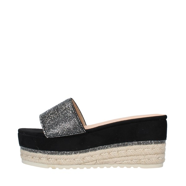 KHARISMA Shoes Women slippers BLACK 6564