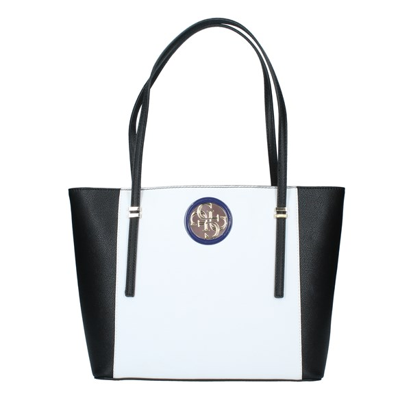 GUESS Bags Women Shopping bags WHITE MULTICOLOR HWVG7186230