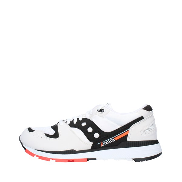 SAUCONY Sports shoes Men WHITE BLACK RED 70437