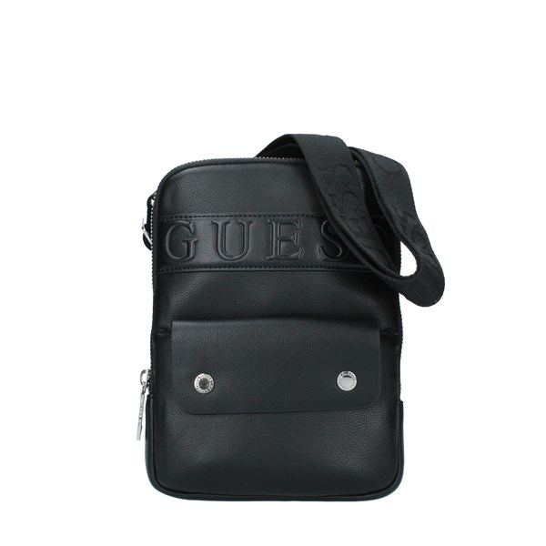 GUESS Bags Men Shoulder straps & Messenger BLACK HM6837PL201