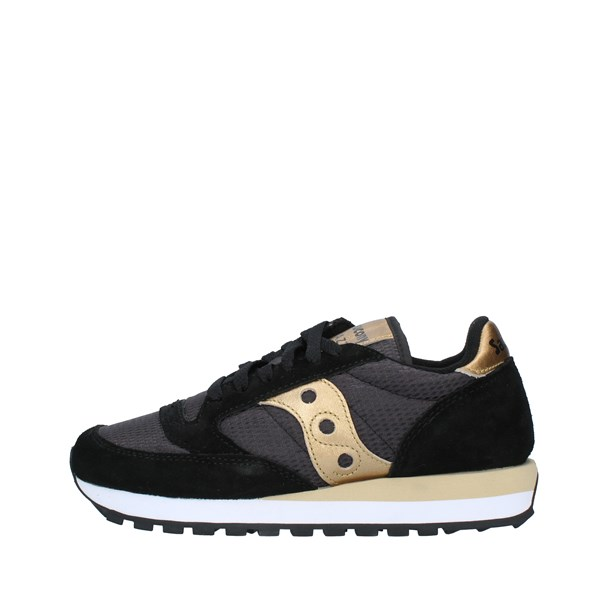 SAUCONY Shoes Women Sneakers BLACK GOLD 1044