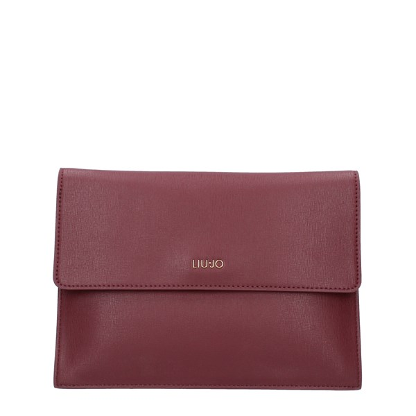 LIUJO Bags Women shoulder bag DARK RED A69012E0087