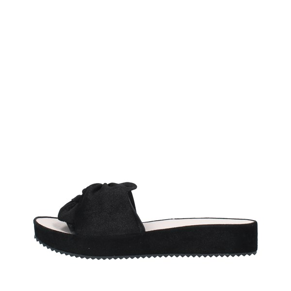 GRUNLAND Shoes Women slippers BLACK KATI.CI1288