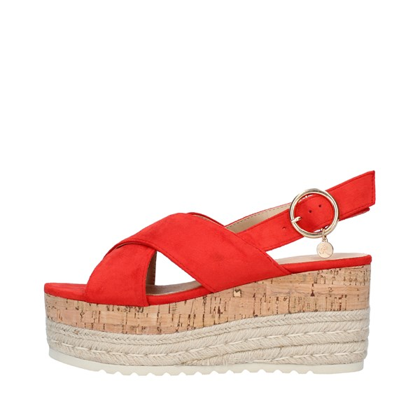 KHARISMA Shoes Women  With wedge RED 6563